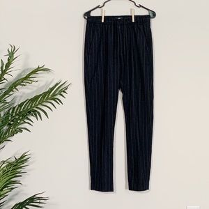 Other - Blue wool dress pants with white pinstripes